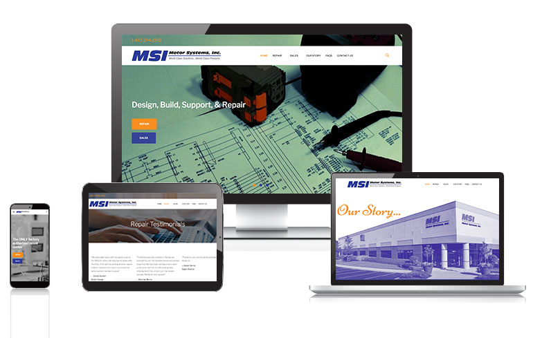 web design for engineering company