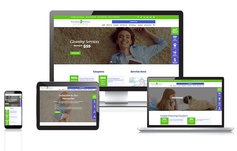Cincinnati web design for consumer services