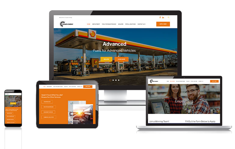 cincinnati website design for energy companies