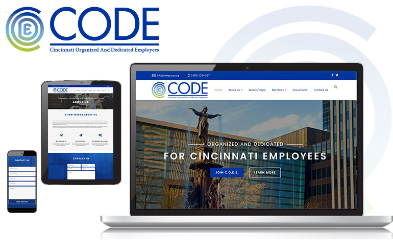 web design and branding for Cincinnati Organizations
