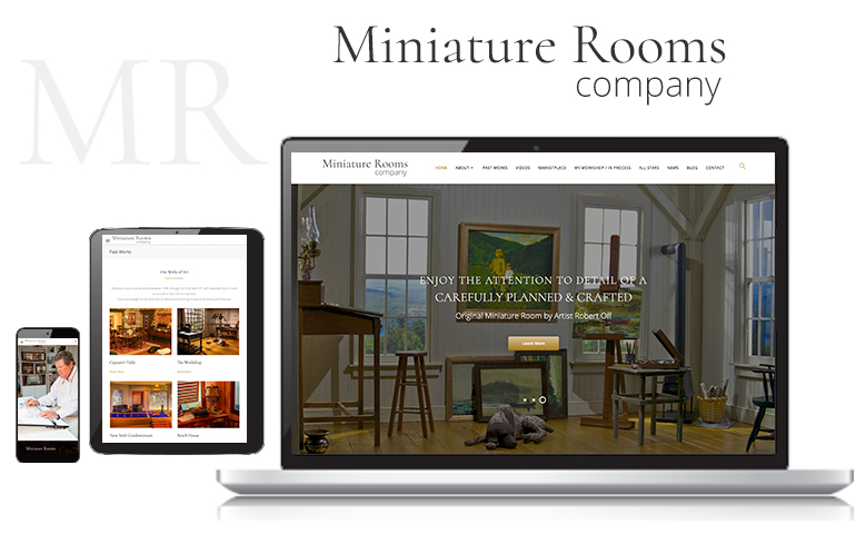 Web Design for Miniature Rooms