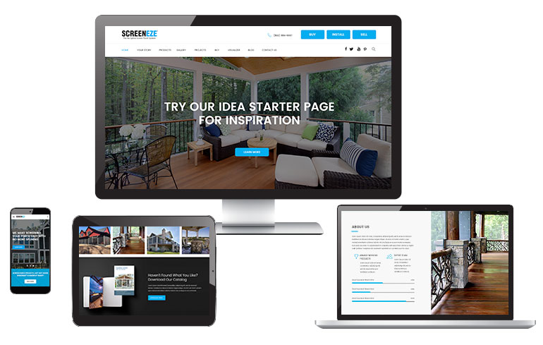 Pixels dots new web design for the home improvement - Best home improvement website design ...
